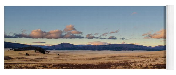 Valles Caldera National Preserve Yoga Mat