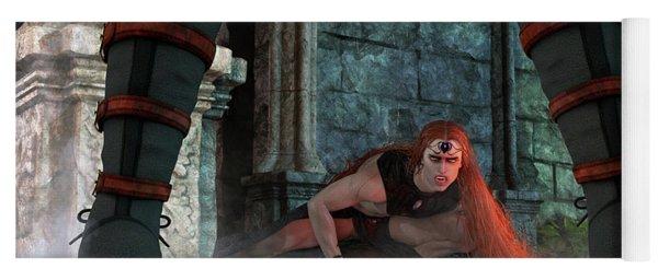 Vampire Hunter Yoga Mat