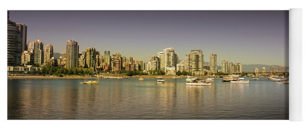 Vancouver In Magical Hours Yoga Mat