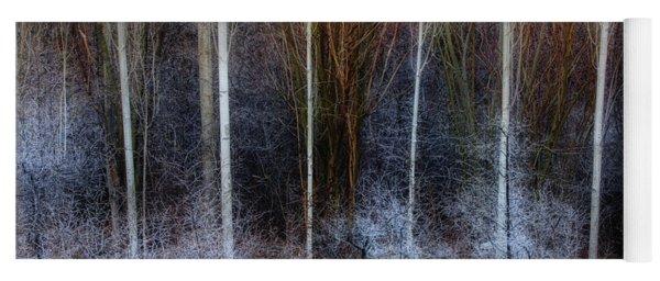 Veins Of Forest Yoga Mat