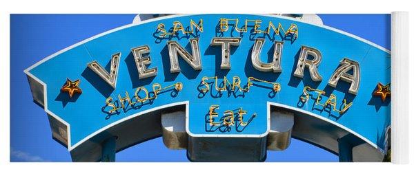 Ventura Sign Yoga Mat