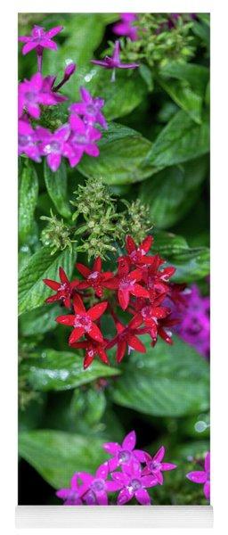 Vibrant Petals Yoga Mat