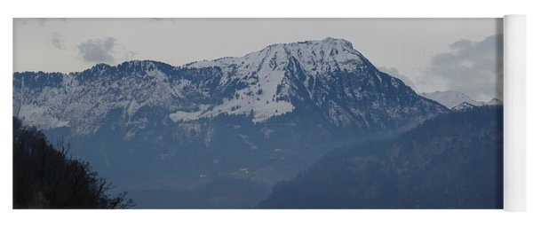 View From My Art Studio - Stanserhorn - March 2018 Yoga Mat