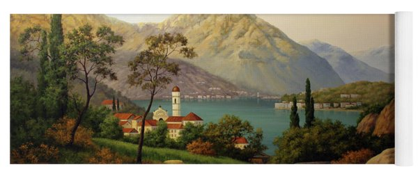 View Of Northern Italy Yoga Mat