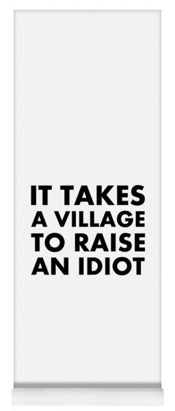 Village Idiot Bk Yoga Mat