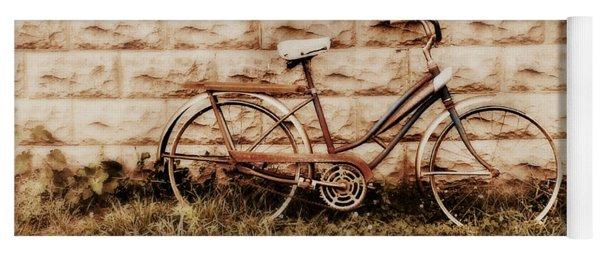 Vintage Bicycle Yoga Mat