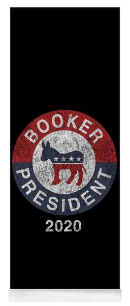 Vintage Corey Booker 2020 Yoga Mat
