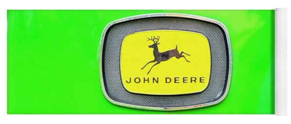Vintage John Deere Badge Yoga Mat