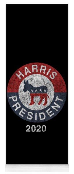 Vintage Kamala Harris For President 2020 Yoga Mat