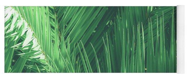 Vintage Palms I Yoga Mat