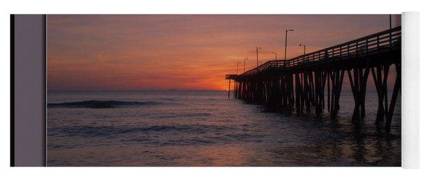 Virginia Beach Sunrise Yoga Mat