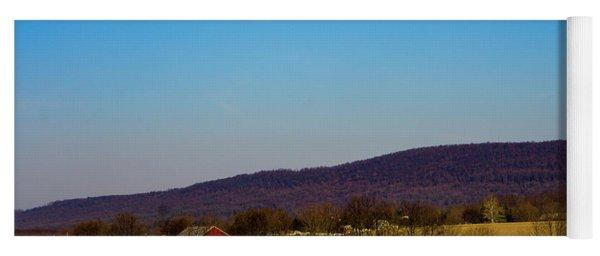 Virginia Mountain Landscape Yoga Mat