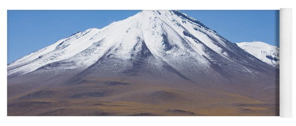 Volcano On The Altiplano Yoga Mat