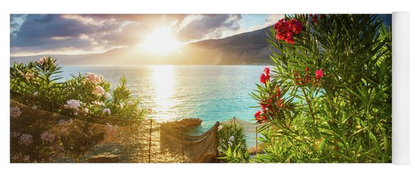 Vouti Beach, Kefalonia, Greece - Incredible Summer Sunrise By Th Yoga Mat