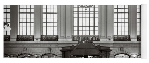 Yoga Mat featuring the photograph Waiting Room by Steve Stanger