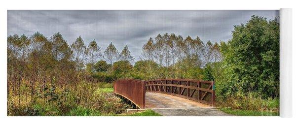 Walnut Woods Bridge - 3 Yoga Mat