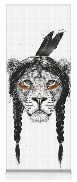 Warrior Lion Yoga Mat