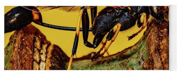 Wasp Just Had Enough Yoga Mat