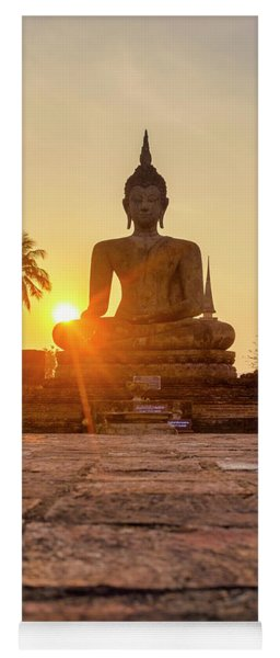 Wat Mahathat Yoga Mat