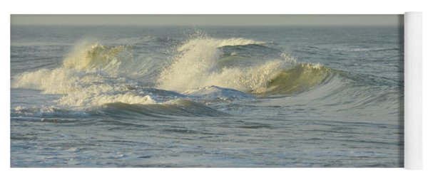 Yoga Mat featuring the photograph Water Power by Jamart Photography
