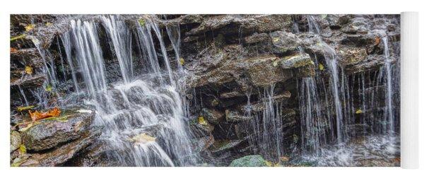 Waterfall @ Sharon Woods Yoga Mat