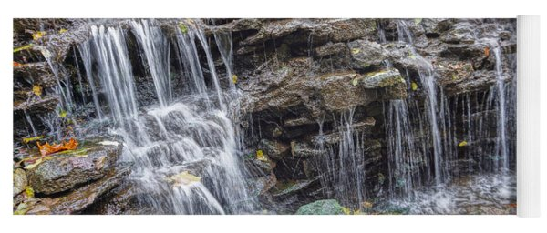 Waterfall @ Sharon Woods Yoga Mat
