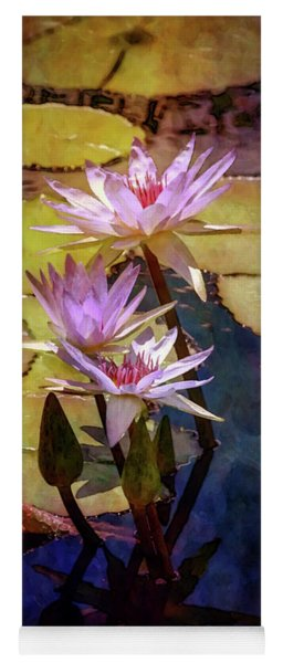 Waterlily Bouquet 2922 Idp_6 Yoga Mat