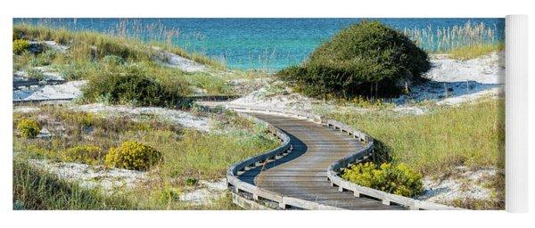 Watersound Beach Dune Boardwalk Yoga Mat