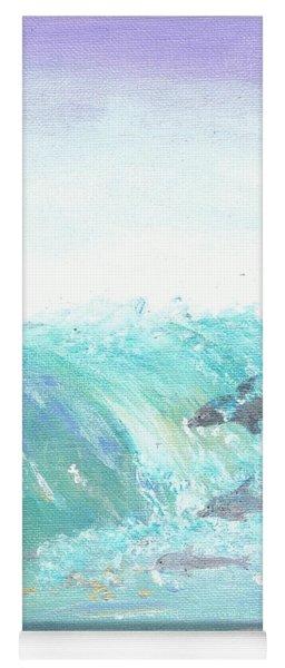 Wave Front Yoga Mat
