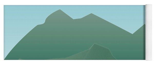 Wave Mountain Yoga Mat