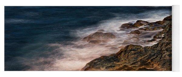 Waves And Rocks At Sozopol Town Yoga Mat