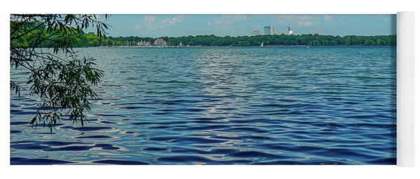 Waves On Lake Harriet Yoga Mat
