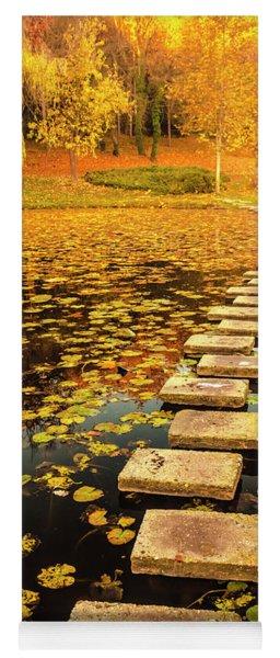 Way In The Lake Yoga Mat