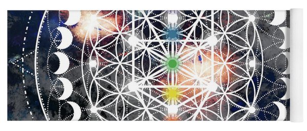 We Are Beings Of Light Yoga Mat