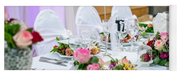 Wedding Table Yoga Mat