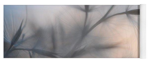 Yoga Mat featuring the photograph Weed Abstract 3 by Marianna Mills