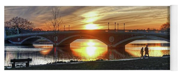 Weeks Bridge At Sunset Yoga Mat