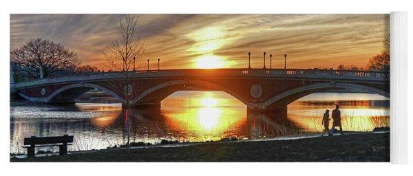 Weeks Bridge At Sunset Yoga Mat