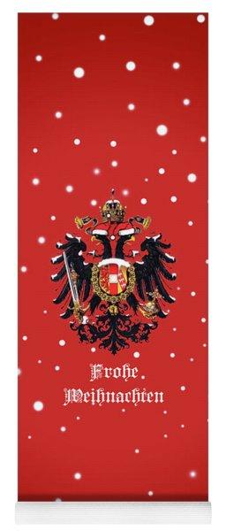 Weihnachtliche Habsburg Doppeladler Yoga Mat