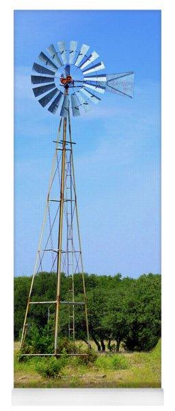 West Texas Windmill A9718 Yoga Mat