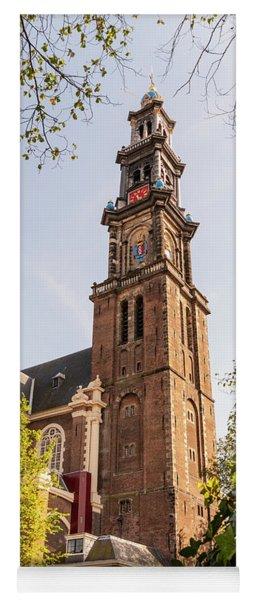 Westerkerk In Amsterdam Yoga Mat