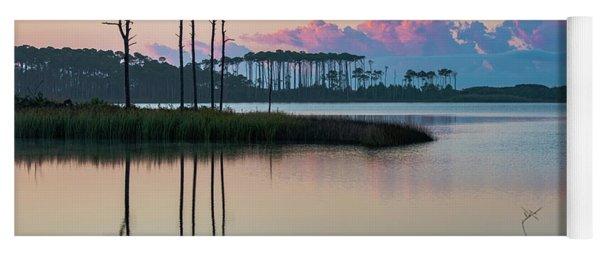 Western Lake Sunrise Yoga Mat