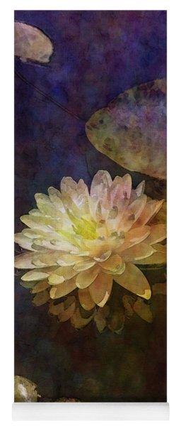 White Lotus Lily Pond 2938 Idp_2 Yoga Mat