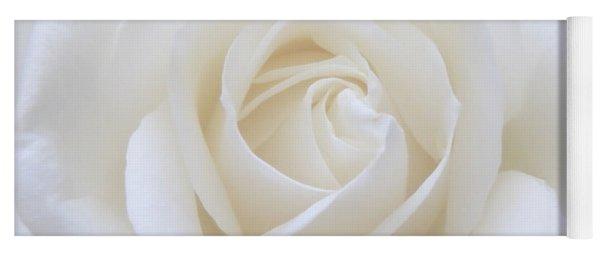 White Rose Macro Yoga Mat