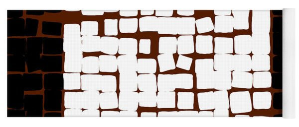 White Square 17x17 Yoga Mat