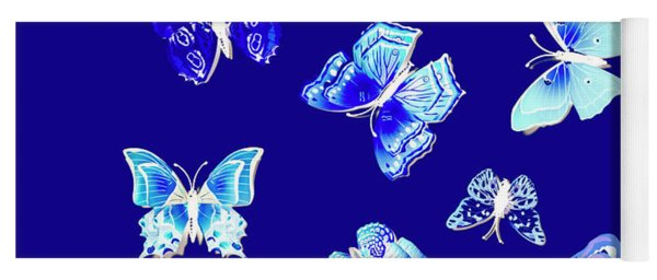 Wild Blue Spring Yoga Mat