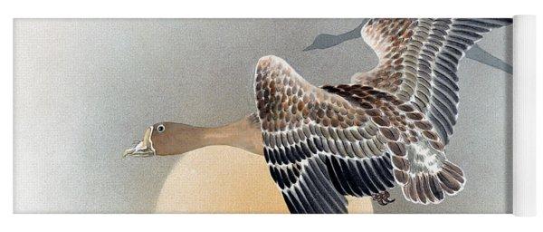 Wild Geese Yoga Mat