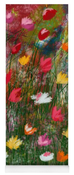 Wildest Flowers 3- Art By Linda Woods Yoga Mat