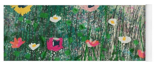 Wildflowers- Art By Linda Woods Yoga Mat