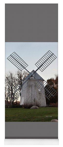 Windmill Along Cape Cod Yoga Mat